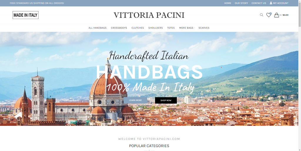 vittoria-pacini-wordpress-design
