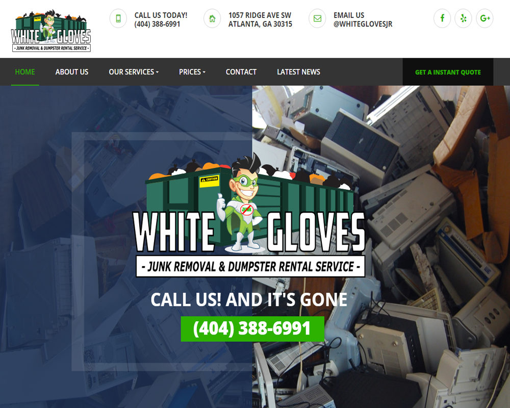 White Gloves Junk Removal Service