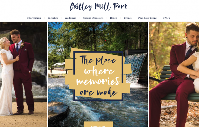 costley-mill-park-wordpress-website